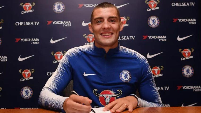 Kovacic resmen Chelsea'de