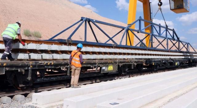 Ankara-Sivas Yüksek Hızlı Tren Projesi çalışmaları devam ediyor