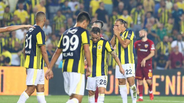 Fenerbahçe bu kez evinde yıkıldı !