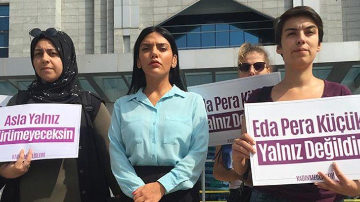 Sunucu Eda Küçük'e duruşma sırasında taciz