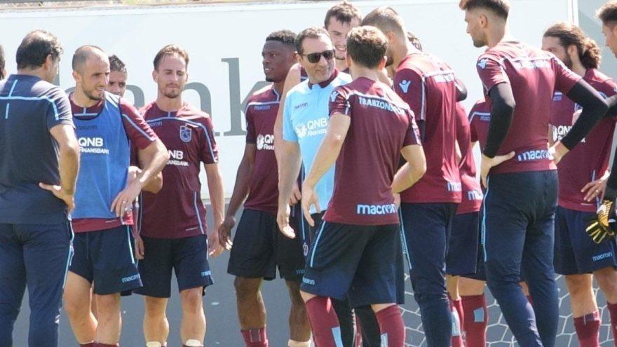 Trabzonspor antrenmanında sürpriz misafir !