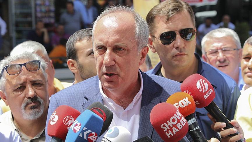 Muharrem İnce'de Erdoğan'a sert sözler