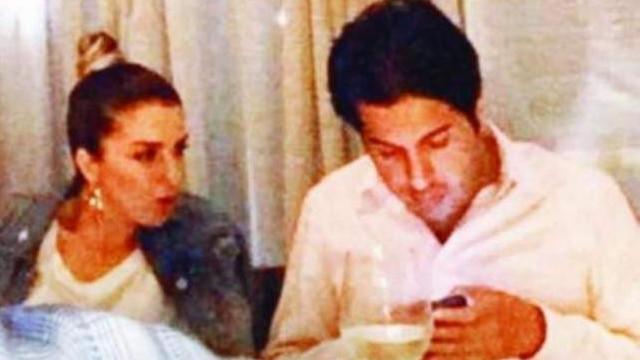 Rıza Sarraf'ın yanındaki kadının kimliği belli oldu