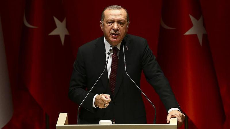 Erdoğan: ''Bu ancak esrar, eroin tüccarlarında olur''