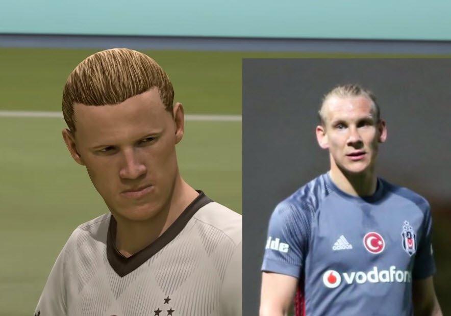 FIFA 19'da Süper Lig'deki futbolcuların yüzleri