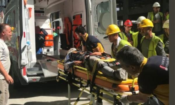 3. Havalimanı şantiyesinde bir iş kazası daha