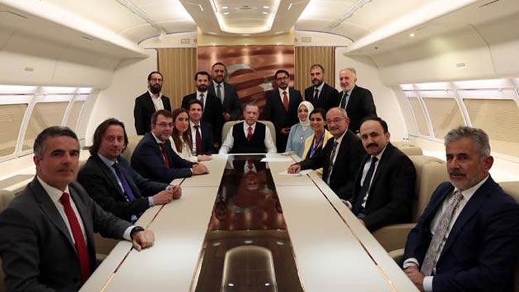 Erdoğan ''uçan saray'' için ilk kez konuştu