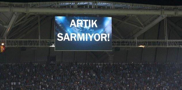 Trabzonspor'dan Galatasaray'a ağır gönderme