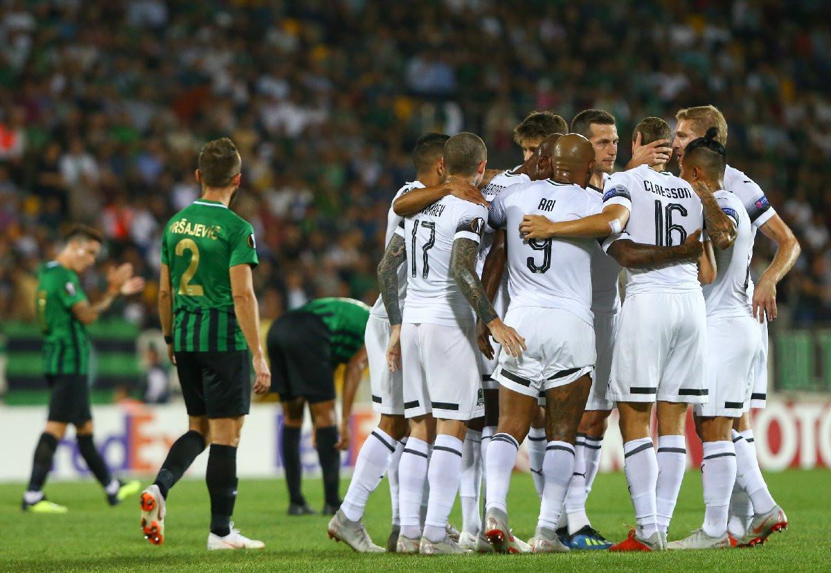 Akhisarspor - Krasnodar: 0-1
