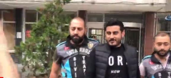Lüks aracıyla İstanbul'u karıştırdı !