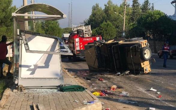 Fethiye'de korkunç kaza ! Turistler dehşeti yaşadı