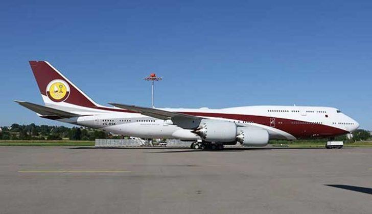 Katar'dan hibe gelen uçan sarayın iadesi için kanun teklifi