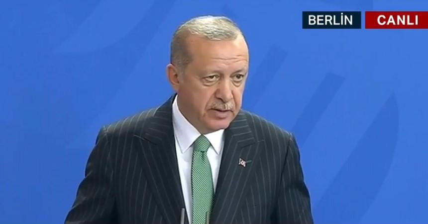 Erdoğan ve Merkel'den Can Dündar açıklaması