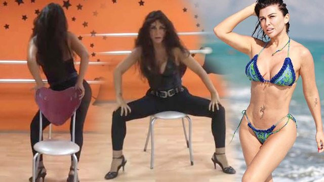 Selen Görgüzel'den seksi dans !