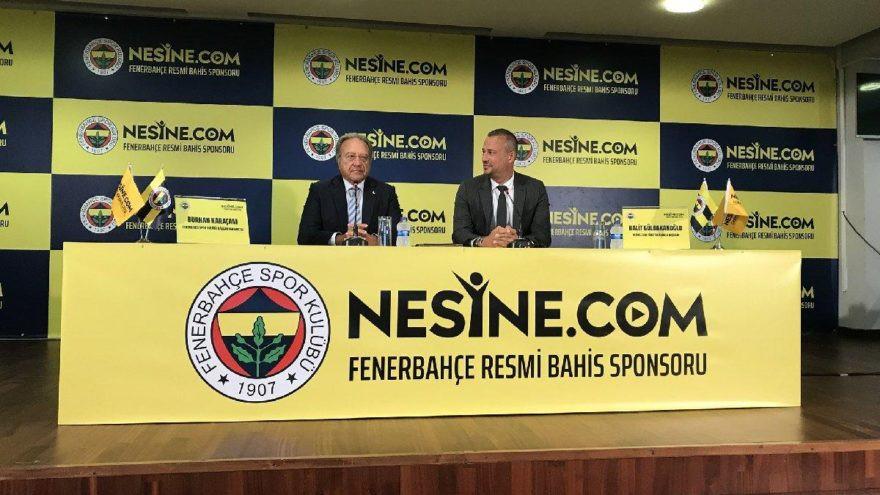 Fenerbahçe'den 3 yıllık sponsorluk anlaşması !