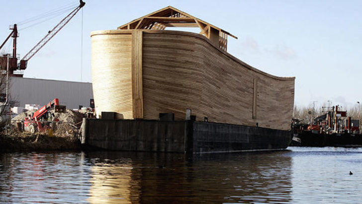 Nuh'un Gemisi Ağrı Dağı'nda mı ?