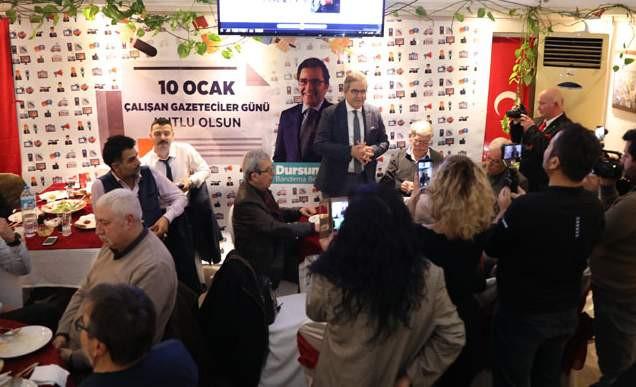 Bandırma Belediye Başkanı Mirza gazetecilerle biraraya geldi