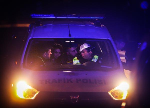 ''Dur'' ihtarına uymayarak kaçan sürücü yakalandı