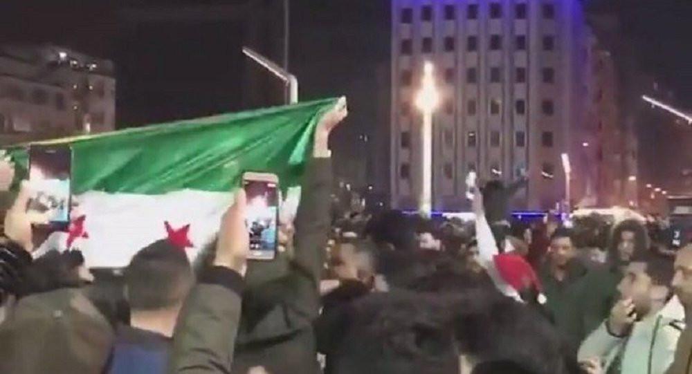 Taksim'de Suriyelilerin ÖSO bayrağı açması Meclis'e taşındı