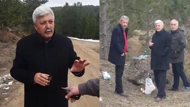 Makam aracıyla aleme giden belediye başkanı tepki çekti