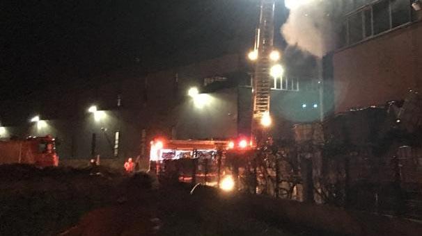 İstanbul'daki tesiste korkutan