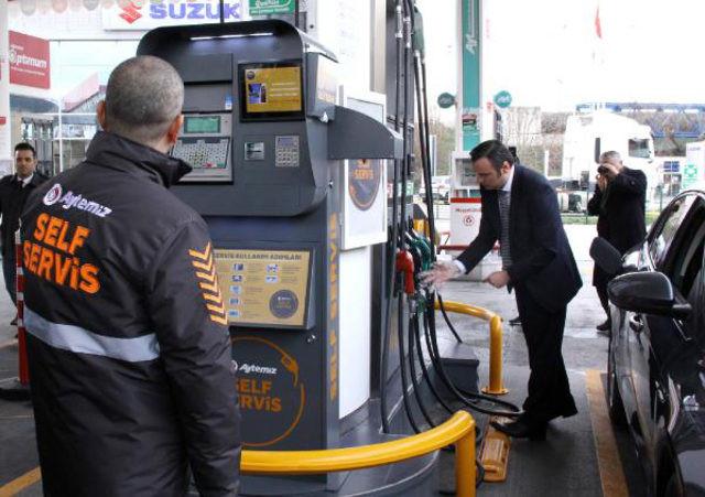 Benzin ve motorinde yeni dönem ! ''Self servis'' olacak...