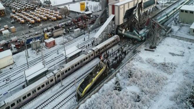 Yüksek Hızlı Tren'de yine ''kaza sinyali'' verdi !