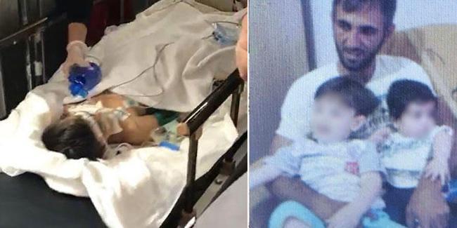Öz babası tarafından dövülen Mertcan hayata tutunamadı