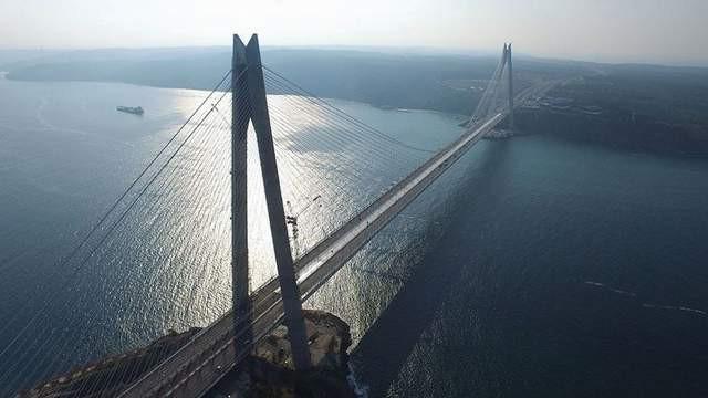 Yavuz Sultan Selim Köprüsü'ne G zam
