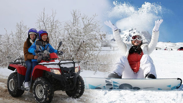 Kış tatili için en güzel rotalar