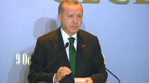 Cumhurbaşkanı Erdoğan: ''Sıkıysa çıksınlar yalanlasınlar''