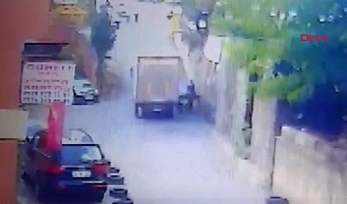 İstanbul'da korkunç ölüm kamerada