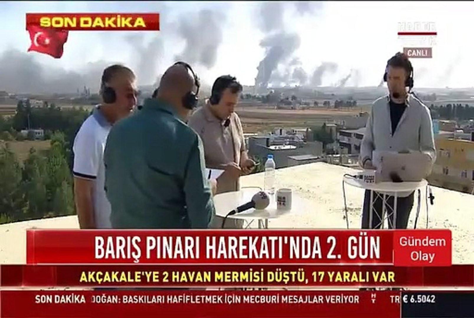 YPG keskin nişancısı Türk gazetecilere ateş açtı