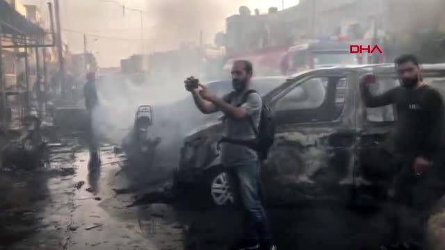 Suriye'nin Kamışlı kentinde bombalı saldırı: Ölü ve yaralılar var