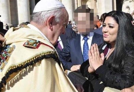 Teröristler için Papa'dan dua istedi !