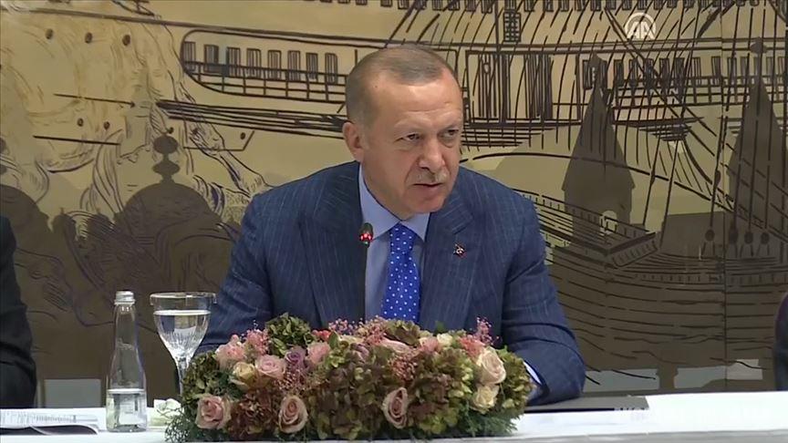 Erdoğan: 35 kilometre derinliğe kadar ineceğiz