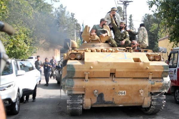 Barış Pınarı Harekatı bölgesinde bugün...