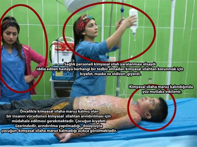 YPG/PKK'nın ''kimyasal silah'' iddiası böyle çürütüldü