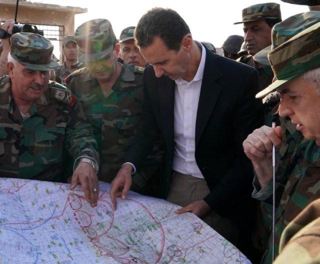 Beşar Esad'dan bir ilk ! İdlib'te ortaya çıktı