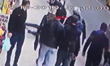 Taksim'de kapkaççı böyle yakalandı
