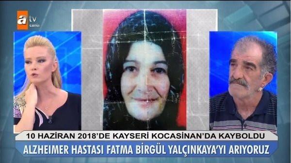 Müge Anlı'ya çıkan Osman Yalçınkaya 'eşim kayıp' demişti