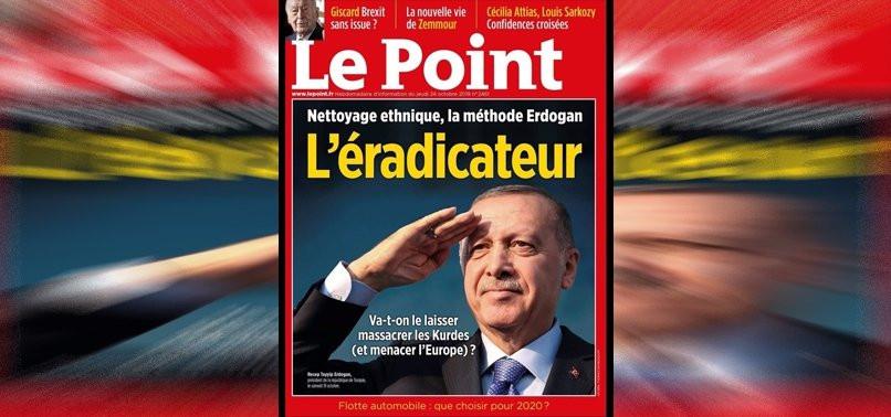 Fransız dergisinin Erdoğan kapağı tepki çekti
