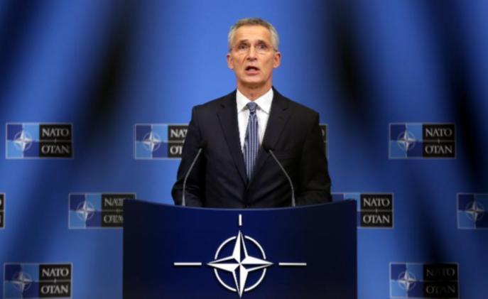 NATO'dan uluslararsı güvenli bölgeye destek