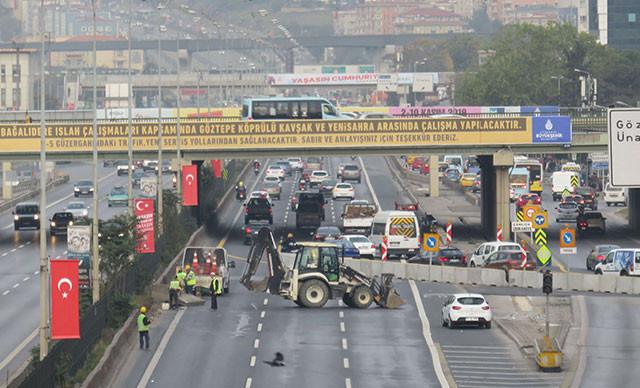 İstanbullular dikkat! Çevre yolunda büyük tadilat 120 gün sürecek!