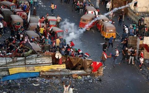 Bağdat'ta sokağa çıkma yasağı ilan edildi !