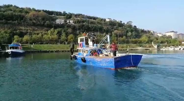 Kaçış planı son anda bozuldu; teknede gözaltı!