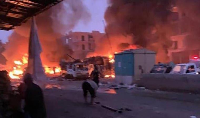 Afrin'de terör saldırısı: Ölü ve yaralılar var