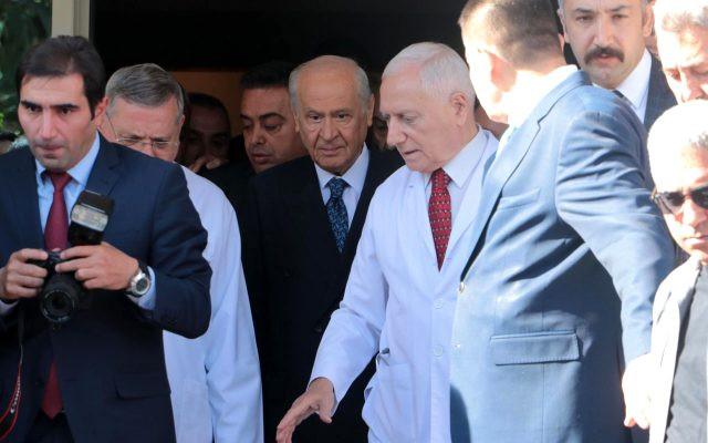 Bahçeli'nin son sağlık durumunu Şamil Tayyar açıkladı