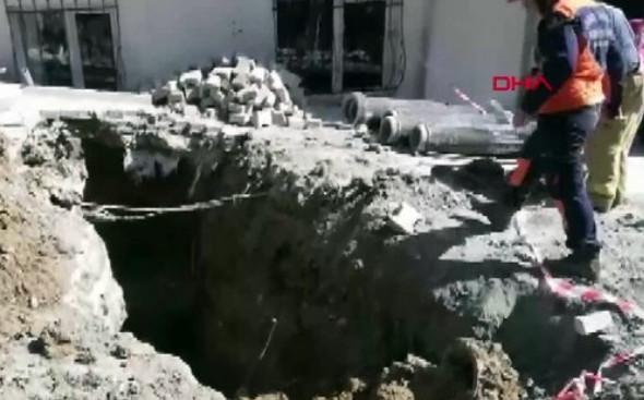 İstanbul'da korkunç olay! Bir işçi toprak altından çıkarıldı