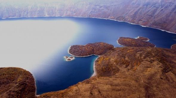 Nemrut krater gölü ve dağı eşsiz manzarası ile büyülüyor - Resim: 3